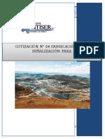 Cotización N° 04_Fabricación de Jaula y señalizacion de piezometros.REV00