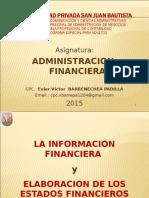 Tema La Informacion Finaciera y Elaboracion de Los Estados Financieros