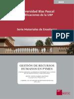 Gestión de Recursos Humanos en Pymes
