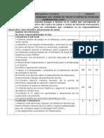 Responsabilidades Del Personal Del Centro de Salud o Centro de Atención Permantente (Cap)