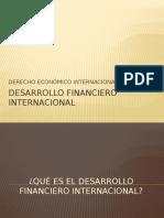 Desarrollo Financiero Internacional