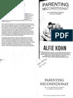 Alfie Kholn Parenting Neconditionat