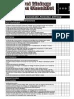 A2 Revision Checklist F214