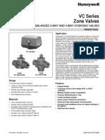 VC Series Zone Valves Agua H