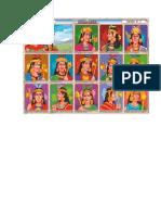 Lamina Los 14 Incas