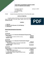 160120 Draft PACB Agenda