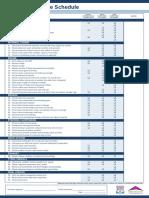 Bosch Service Schedule