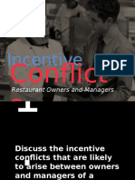 Incentive Conflicts