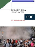 Psicologia de La Evacuacion