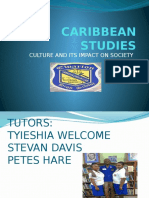 Caribbean Studies Powerpoint(Tps)