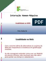48761-Notas de Aula 06 - Usabilidade Na WEB