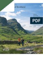 Scottish National Heritage - The Nature of Scotland Spring 2009