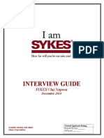 Interview Guide Inbound Cluj - December 2014 GOOD