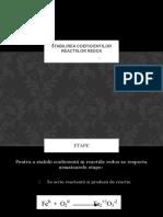 Stabilirea Coeficientilor Reactiilor Redox