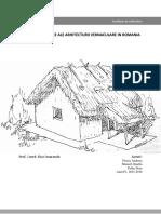 Aspecte Ecologice in Arhitectura Vernaculara