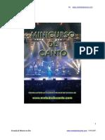 Minicurso Canto