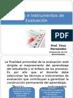 Tecnicas Instrumentos de Evaluacion