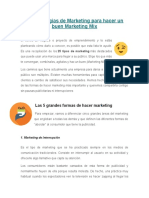 25 Estrategias de Marketing Para Hacer Un Buen Marketing