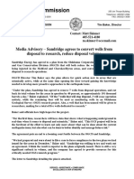 Sandridge agrees to OCC plan