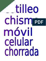 Variantes Léxicas de España (Memorama)