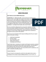 Greener Product Features  Helping LEED Professionals