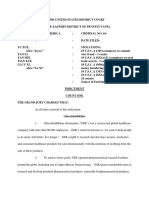 GSK Indictment