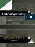 Ciencias Básicas. Embriología Del Ojo (OPN)