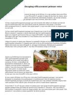 Conseils pour Lansdscaping efficacement pelouse votre maison