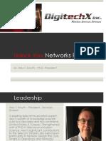 Digitechx Services Presentation