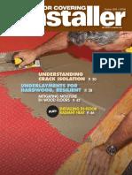 Floor Covering Installer - October 2015