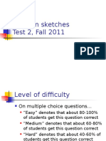 Test2SolutionSketches Fall2011 Updated