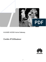 202427-HUAWEI HG530 Home Gateway User Guide%28V100R001_01%2CTelecom%2CAlgiria%2CFrench%29