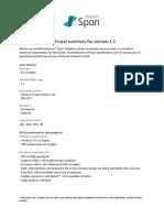 Technical Summary v1.1