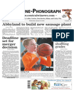 January 20, 2016 Tribune-Phonograph