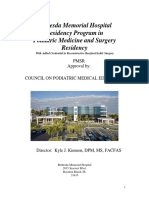 Bethesda Podiatry Residency Manual July 2011 Kk