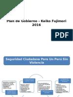 Plan de Gobierno - Keiko Fujimori