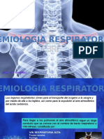 Semiologia Respiratoria