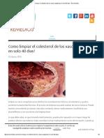 Como limpiar el colesterol de los vasos sanguíneos en solo 40 dias! - Ecoremedios.pdf