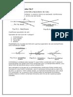 VII. Clasificarea Și Caracteristica Aparatelor de Cale