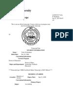 dr bealman complete transcripts
