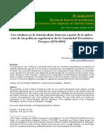 LOS CAMBIOS EN LA VITIVINICULTURA FRANCESA A PARTIR DE LA APLICACIÓN DE LAS POLÍTICAS REGULATORIAS DE LA COMUNIDAD ECONÓMICA EUROPEA (1970-2005) PATRICIA ELIZABETH OLGUÍN, CAMILLE CHAMARD