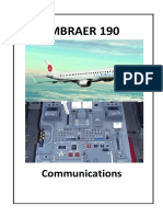 Embraer 190 Communications