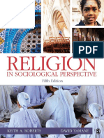 Religion in Sociological Perspective - Keith a. Roberts