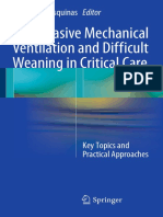 Noninvasive Mechanical Ventilation and Difficult Weaning in Critical Care