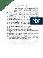 Protokol MTT Dan Karakterisasi