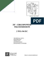ZF 3 WG 94EC manual de taller