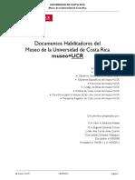 Documentos Habilitadores del Museo de la Universidad de Costa Rica