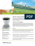 Cups recycling - Brochure August 2011