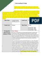 unit plan and feedback