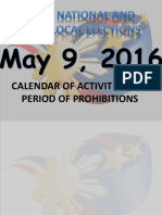 NAL2016 Calendar of Activities